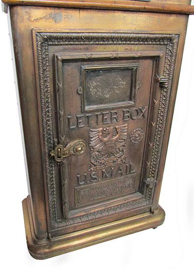 Brass Mail Box