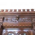 Carved Walnut European Buffet