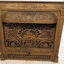 Full Mahogany Fireplace Mantel