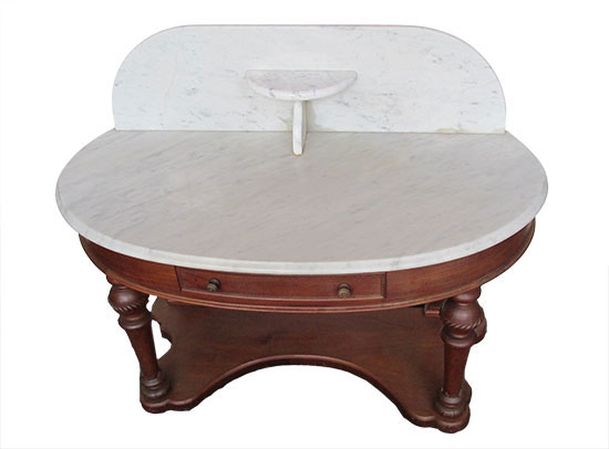 Marble Top Table / Wash Stand