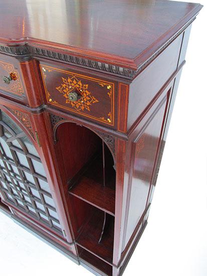 Aesthetic Inlaid Cabinet