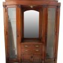 Oak Built In Cabinet