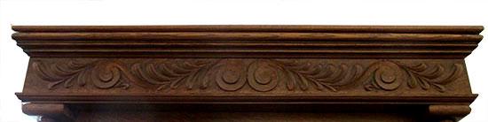 Victorian Oak Full Mantel