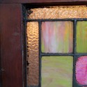 Transom Window With Flowers