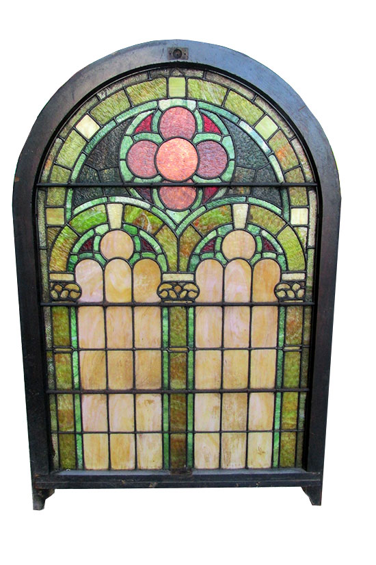 Large Arched Top Window