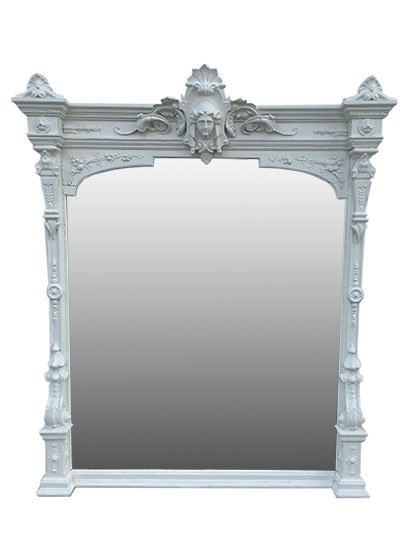 Victorian Over Mantel Mirror