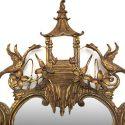 Vintage Gold Leaf Mirrors