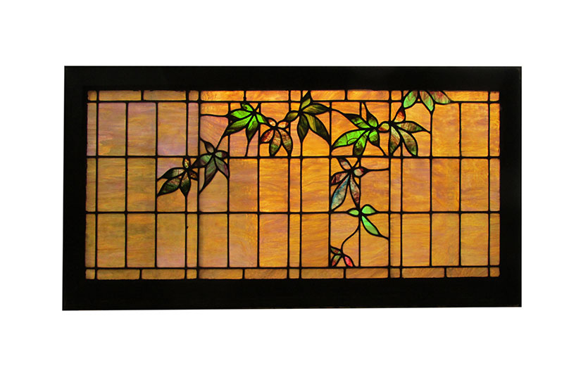Transom Window With Vines