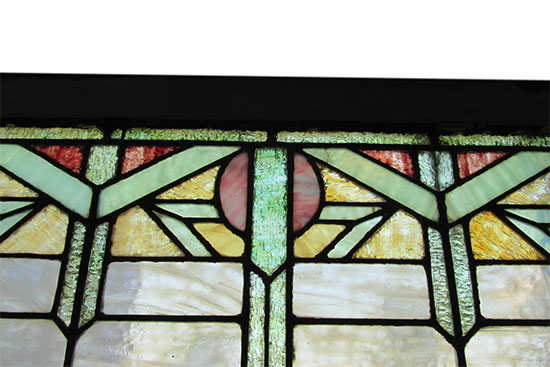 Deco Style Transom Window