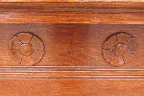 Oak Half Mantel