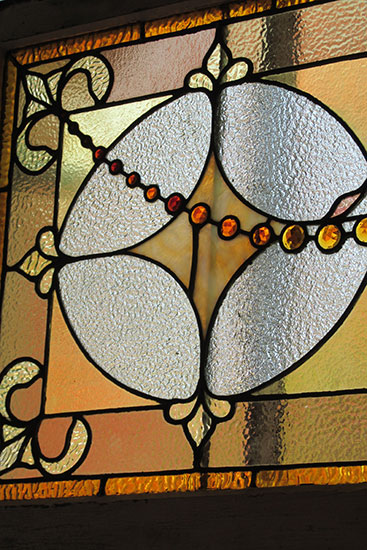 Transom Window with Jewels