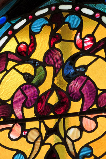 Arched Stained Glass Windows