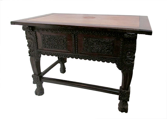 Chinese Carved Console Table