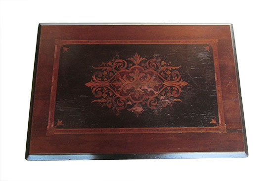 Inlaid Side Table