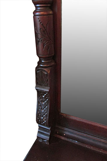 Walnut Pier Mirror