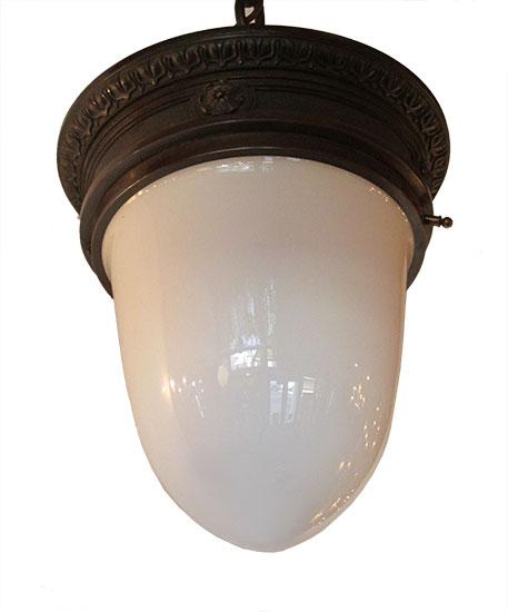 White Glass Pedant Light
