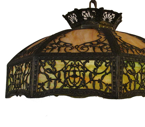 Filigree Eight Panel Light