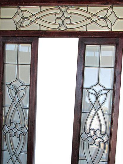 Three Piece Glass Door Surround
