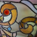 Stained & Beveled Glass Transom