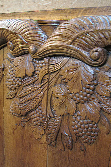 Pair of Large Carved Panels