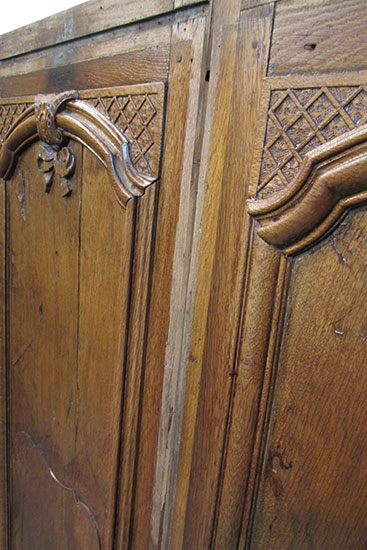 Pair of Carved Panels