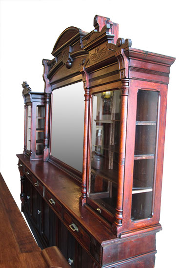 Cherry Back & Front Bar