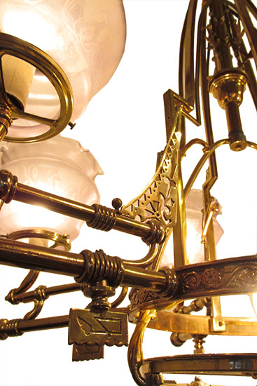 Antique American Chandelier