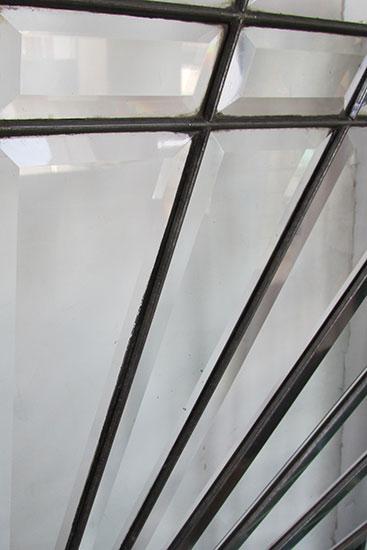 Large Beveled Window