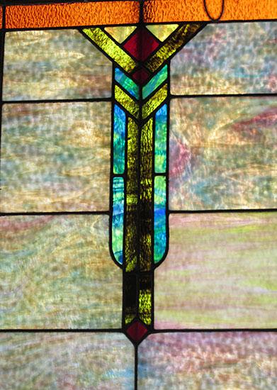 Large Arts & Crafts Window