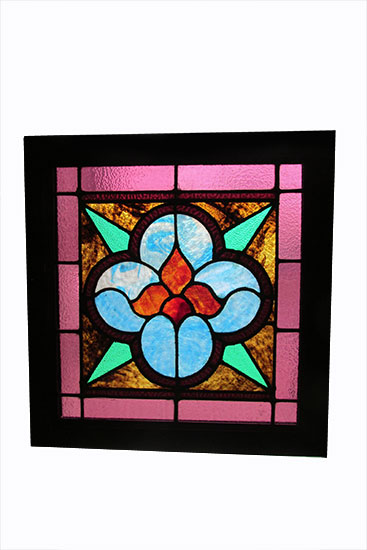 Set Of Small Stained Glass Windows