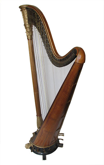 French Pedal Harp