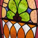 Pair of Gothic Stained Glass Windows