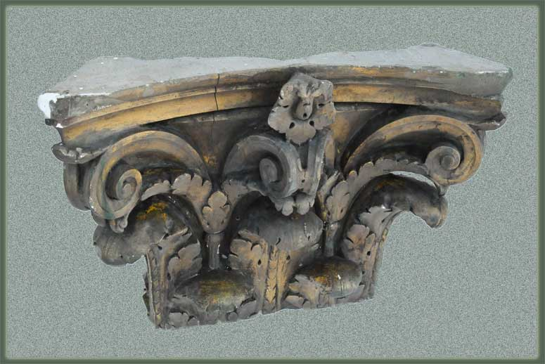 Salvaged Pilaster Capital