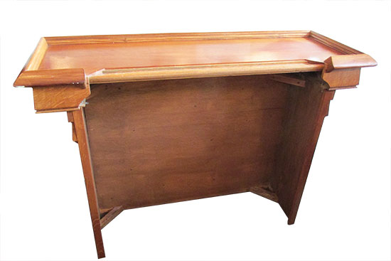 Small Oak Front Bar