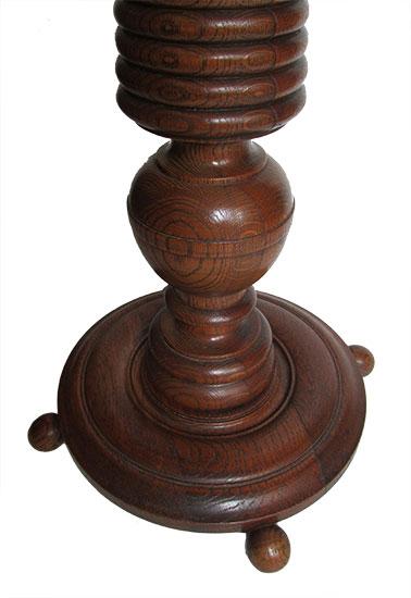 Oak Pedestal