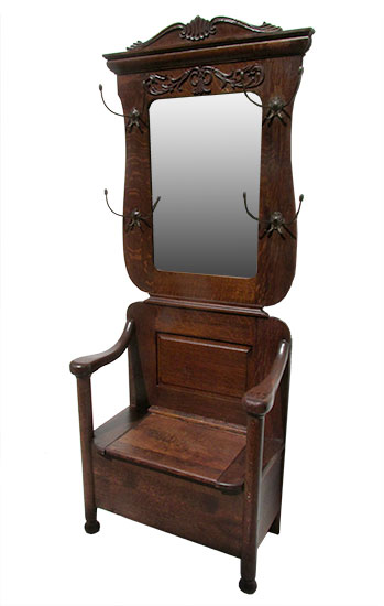 Hall Trees Amp Pier Mirrors Archives Wooden Nickel Antiques