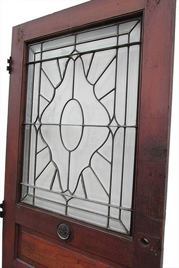Beveled Glass Entry Door