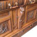 Oak Curio Top Sideboard