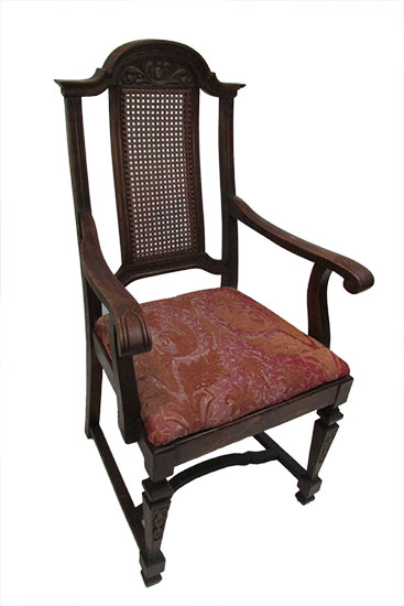 Set of Five Oak Chairs