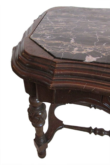 Small Marble Top Side Table