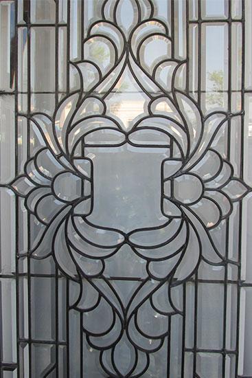 Bevel Glass Window