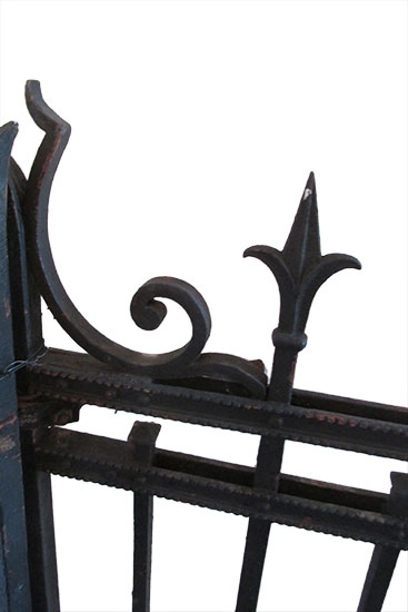 Pair of Iron Gates