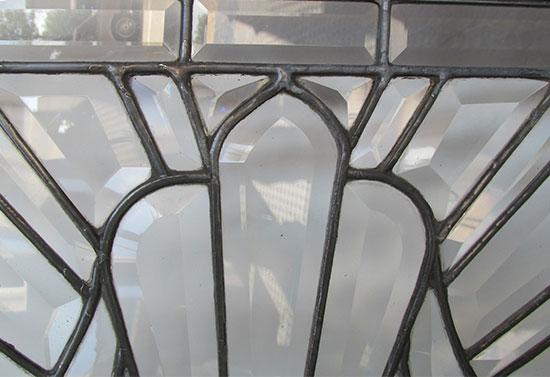 Beveled Glass Window
