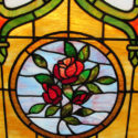 Arched Stained Glass