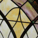 Pair Arch Stained Glass