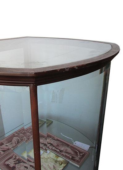 Round Display Cabinet