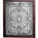 Large Beveled Glass Window