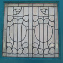 Bevel Glass Entry Way