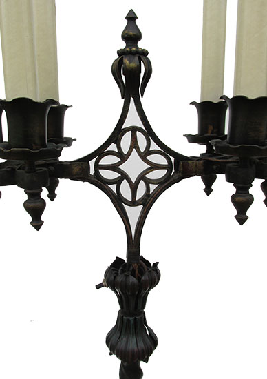 Pair of Candelabra Floor Lamps
