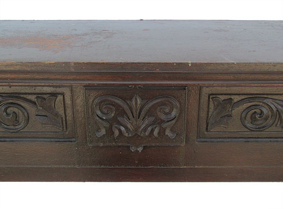 Oak Half Mantel
